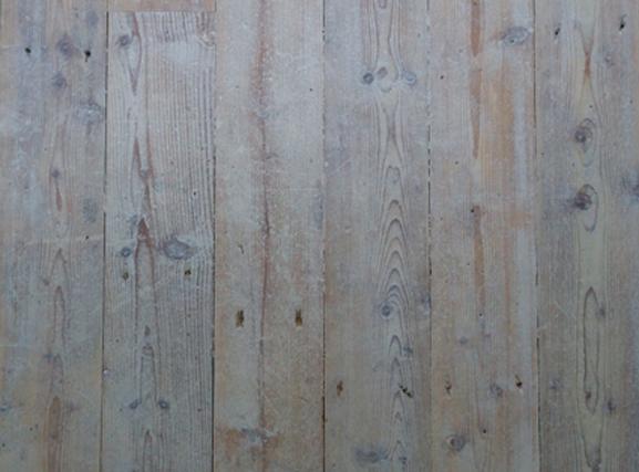 Steigerhouten vloer